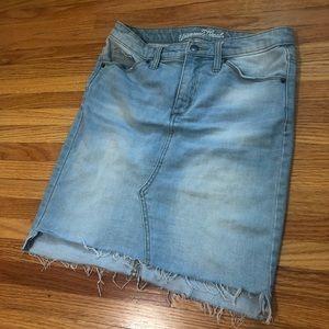 Universal Thread Skirts - Universal Thread Jean Skirt